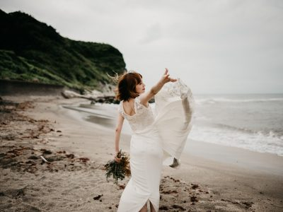 Lin & Lee | Prewedding photo Japan on the Pacific coast