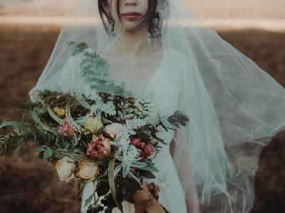 Manami & Hike | Japan prewedding photo session at lake Chuzenji