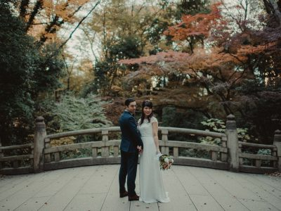 Cenk & Haruka | Intimate Yoyogi prewedding session