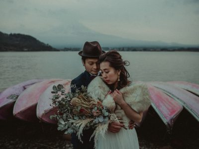 Kayoko & Yuuki | Lake Kawaguchiko lovers